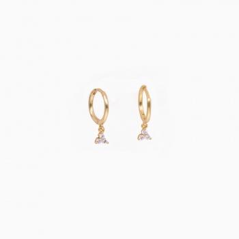 Boucles d'oreilles Granada or