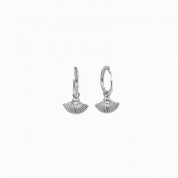 Earrings Cologne silver