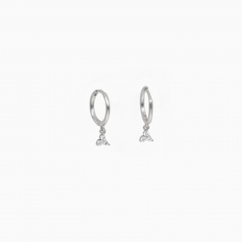 Earrings Amsterdam silver