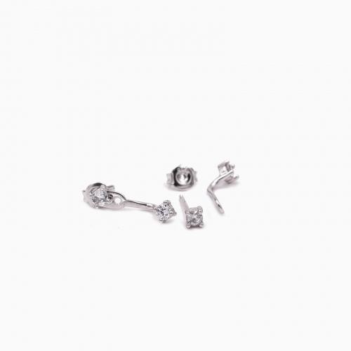 Earrings Monaco silver