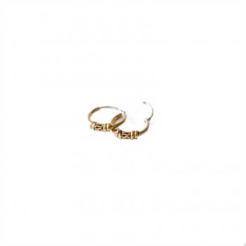 Boucles d'oreilles Ubud or