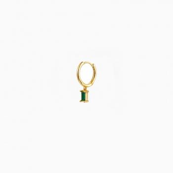 Earrings Belgrade gold black