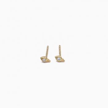 Earrings Cardiff gold