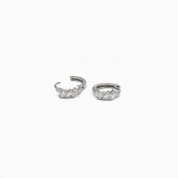 Boucles d'oreilles Jaipur argent