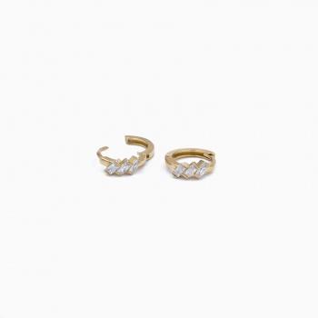 Boucles d'oreilles Jaipur or