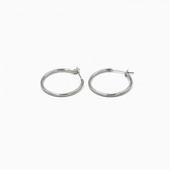 Earrings Capri silver - 20