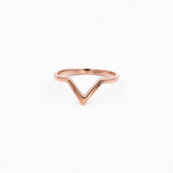 Ring Vienna pink gold