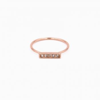 Ring default goud rose