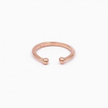Ring Berlin goud roze