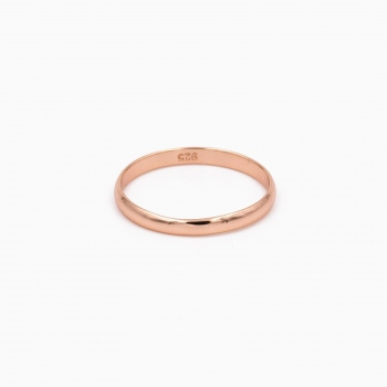 Bague Dublin or rose