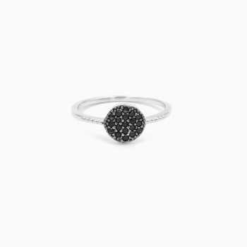 Ring Dubai silver black