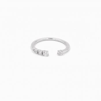 Ring Default zilver