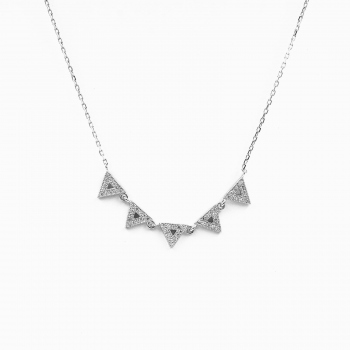 Collar Cairo plata