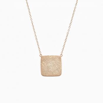 Halsketting Default roze goud
