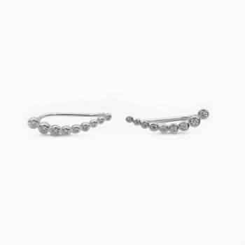 Earrings Porto silver