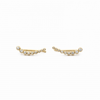 Earrings Porto gold