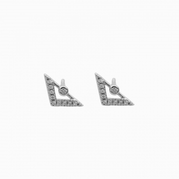 Earrings Brasilia silver