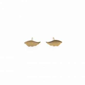 Boucles d'oreilles Rabat or