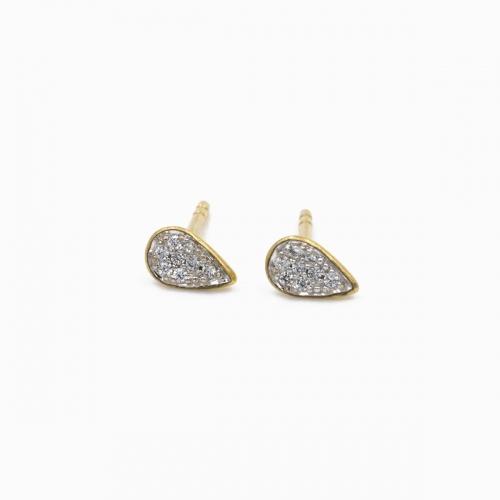 Boucles d'oreilles Mumbai or