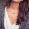 Collier Default argent