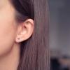 Boucles d'oreilles Sao Paulo argent petit