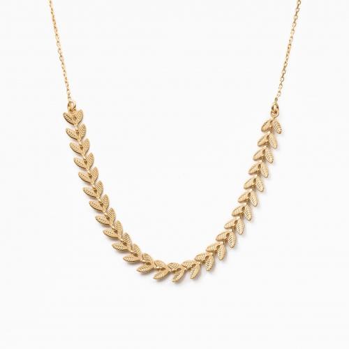 Halsketting Milan goud