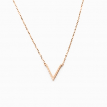 Collier Vienna or rose