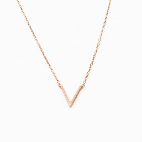 Collar Vienna oro rosa