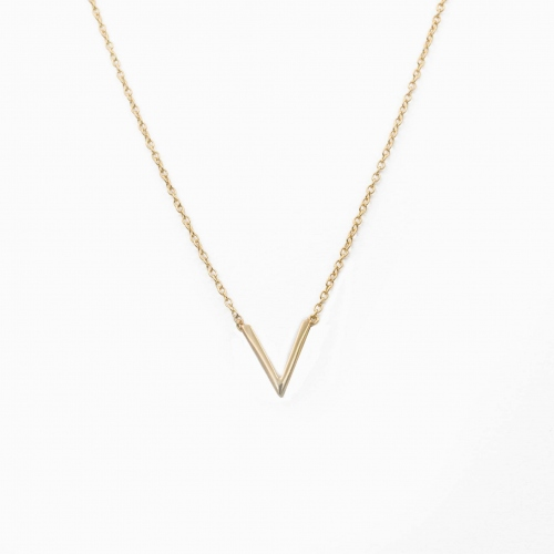 Halsketting Vienna goud
