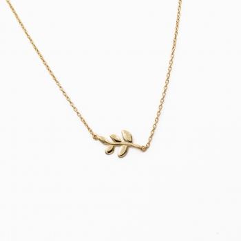 Halsketting Wellington goud