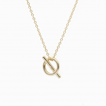 Necklace Bilbao gold