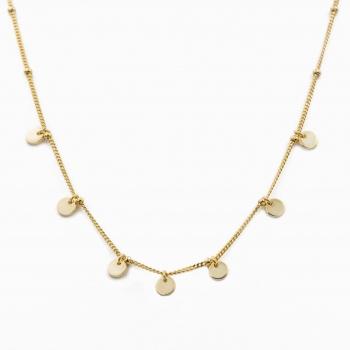 Halsketting Havana goud