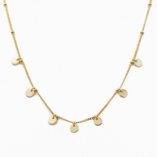 Necklace Havana gold