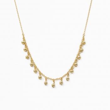 Halsketting Panama goud