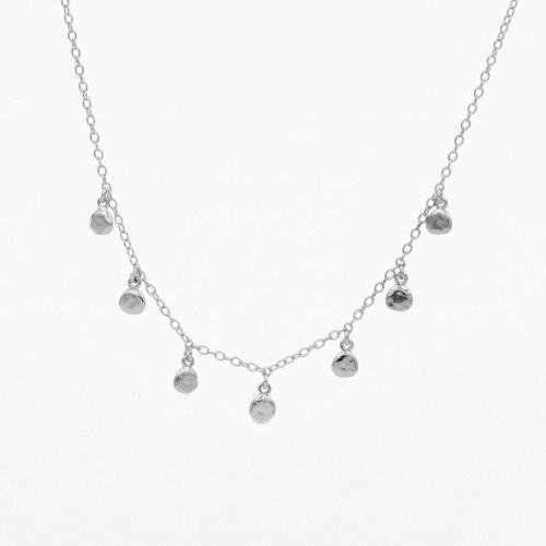 Necklace Bamako silver
