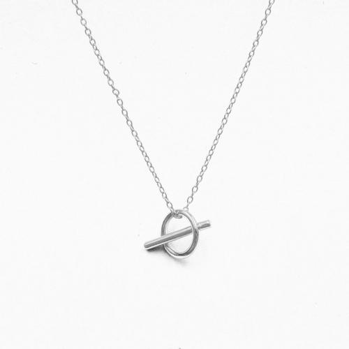 Necklace Bilbao silver