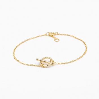 Armband Bilbao goud