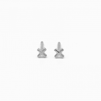Earrings Liverpool silver