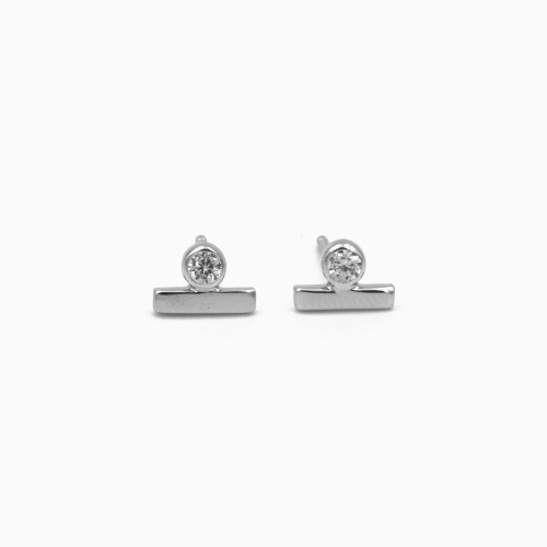 Earrings Sofia silver