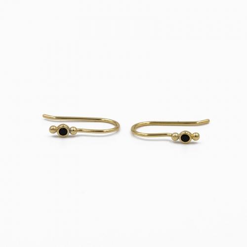 Boucles d'oreilles Cordoba or