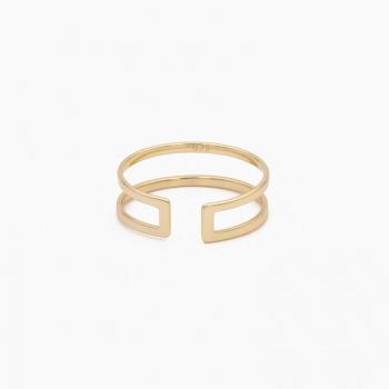Ring Larissa goud