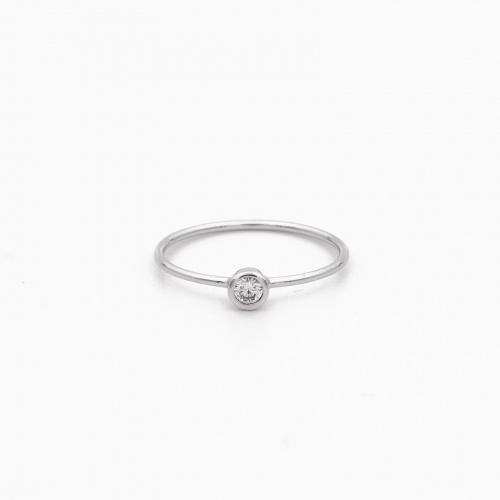 Ring Portland zilver