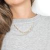 Collar Panama oro