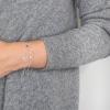 Bracelet Panama silver