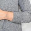 Bracelet Panama argent