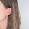 Boucles d'oreilles Texas or