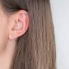 Boucles d'oreilles Cologne argent