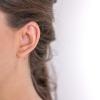 Boucles d'oreilles Cambridge argent