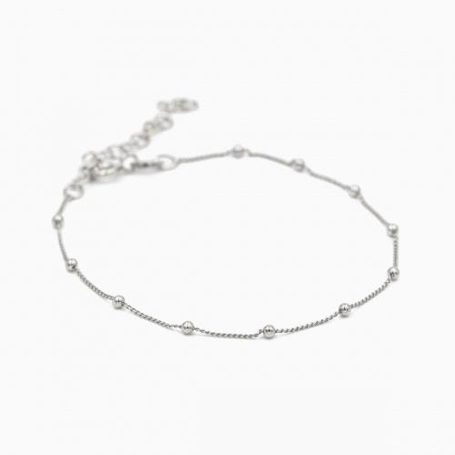 Armband Panama zilver