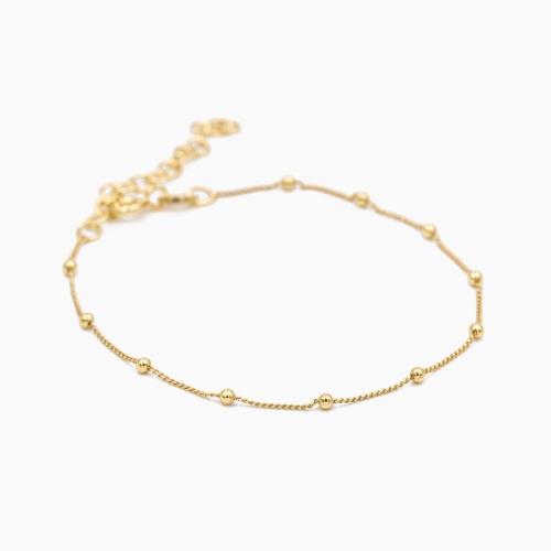 Bracelet Panama gold